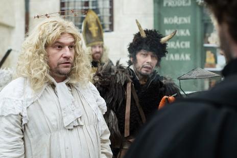 Fotografie z natáčení pohádky Anděl Páně 2 v Ledči nad Sázavou